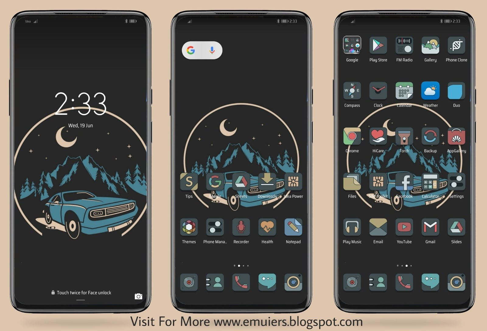 Flat EMUI Theme Download For Huawei & Honor Phones - EMUIERS - EMUIERS