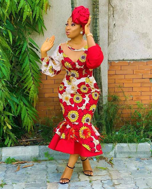 The 20 Best of Owambe Aso Ebi Dresses 57