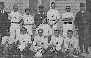 Formación de Chile ante Uruguay, Campeonato Sudamericano 1916, 2 de julio