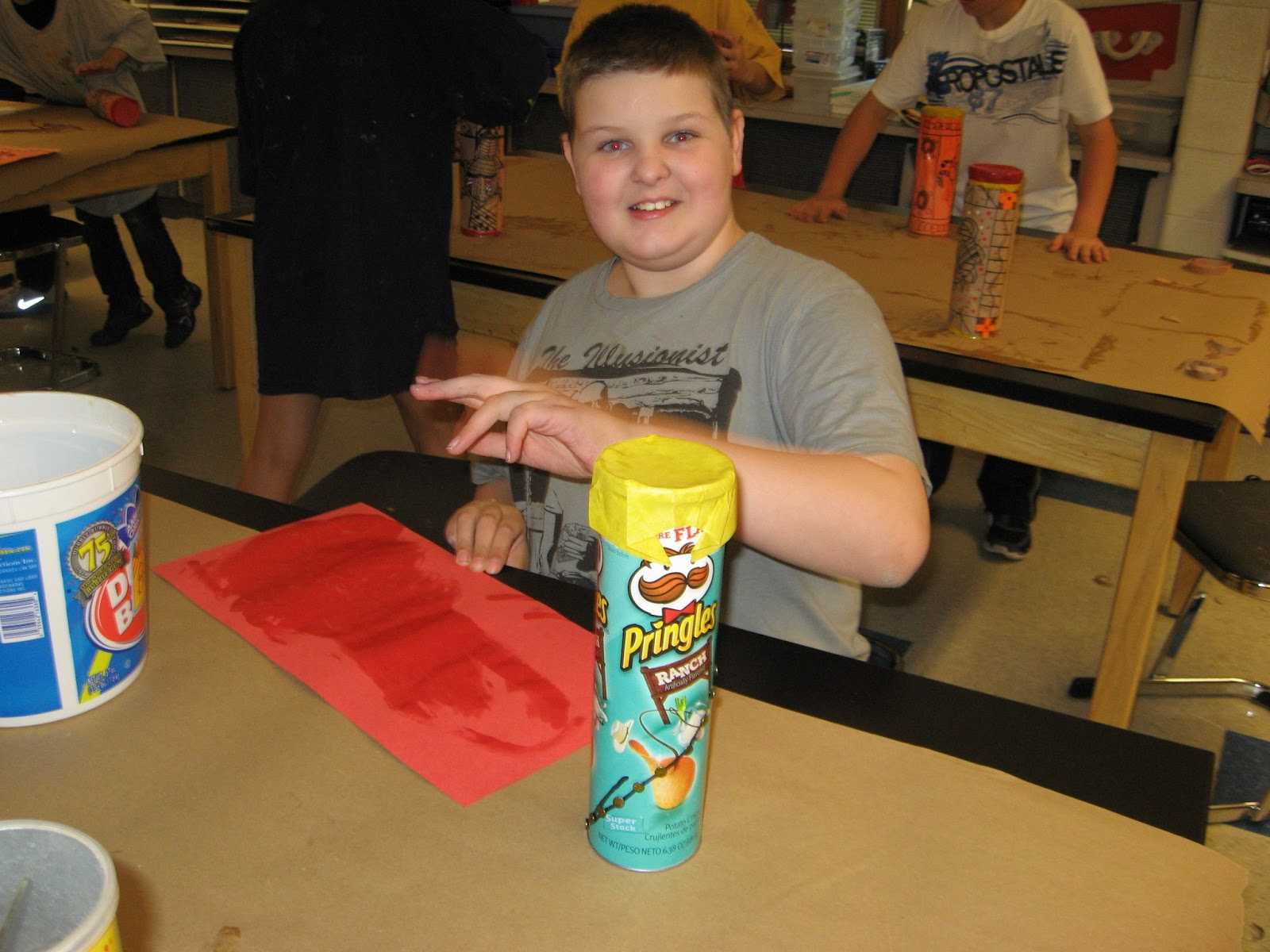 Jamestown Elementary Art Blog 5th Grade Aboriginal Rainsticks
