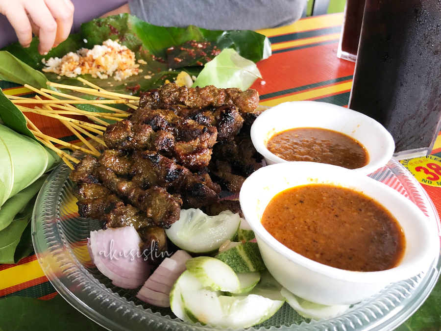 Sarapan Pagi Nasi Lemak Daun Sempo di Jeti Kong Kong Laut