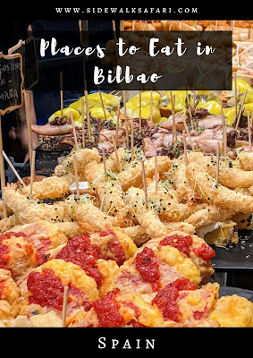 Places to eat in Bilbao Spain