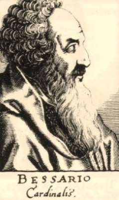 «Ιωάννης Βησσαρίων ο Πόντιος: Ο πρωτεργάτης της Αναγέννησης και του ιταλικού ουμανισμού»