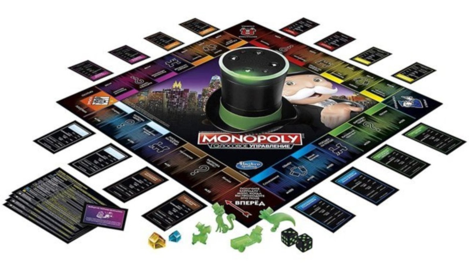 News Collider Board Game News Monopoly Voice Banking