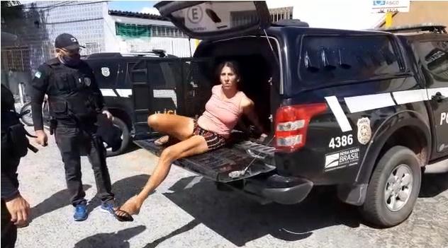 Polícia Civil prende mulher por tentativa de roubo em Macaíba