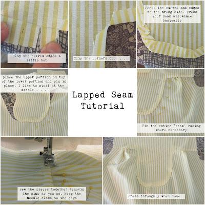 lapped seam tutorial
