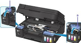 Kode Maintenance Printer Canon MP287