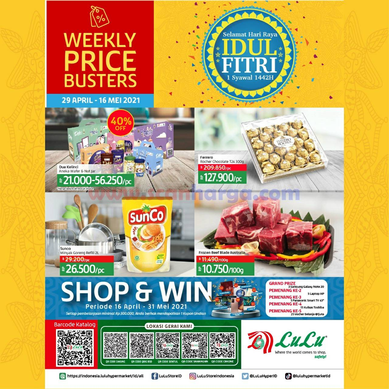 Katalog Promo LULU Supermarket 29 April - 16 Mei 2021