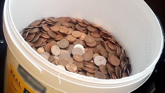 patrao rescisao funcionario 30 kg moedas