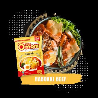 Omoni-Rabokki-Beef