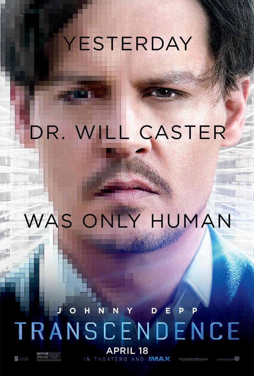 Download Transcendence (2014) Full Movie in English Audio with EngSub Audio BluRay 720p [1GB]