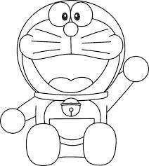 Download 10 Gambar Mewarnai Tokoh Kartun Doraemon