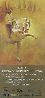 Ecija - Feria 2014 - Exhibición de Ganaderías y Concurso de Arte y Elegancia