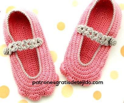 como-tejer-zapato-crochet-para-niña