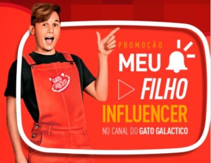 Cadastrar Promoção Claro 2020 Meu Filho Influencer - Gato Galactico