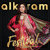 Alkaram Embroidered Chiffon Dresses 2017 Festival Collection