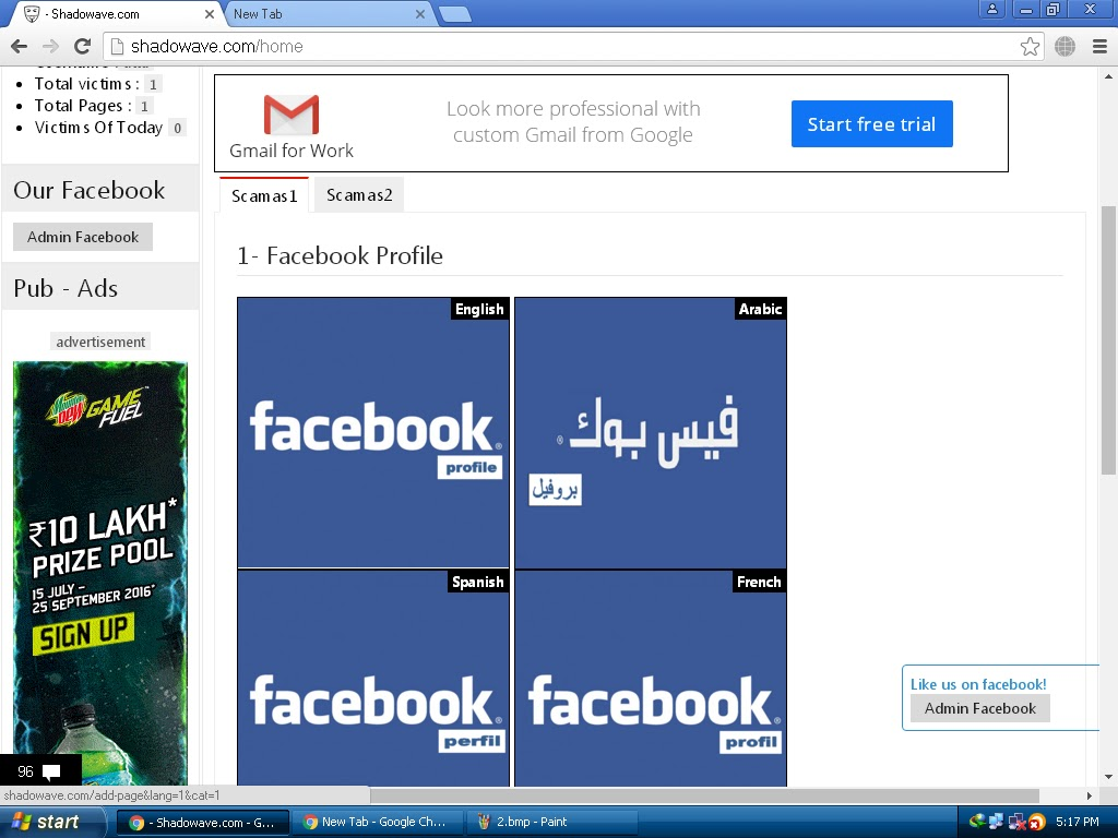 How to Hack Facebook Account With Send Fake Links - HackingTrap