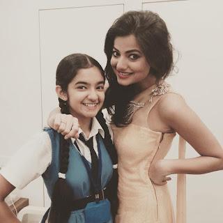 Anushka Sen Hot Photo with BAlveer