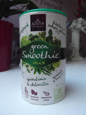 green smoothie mix
