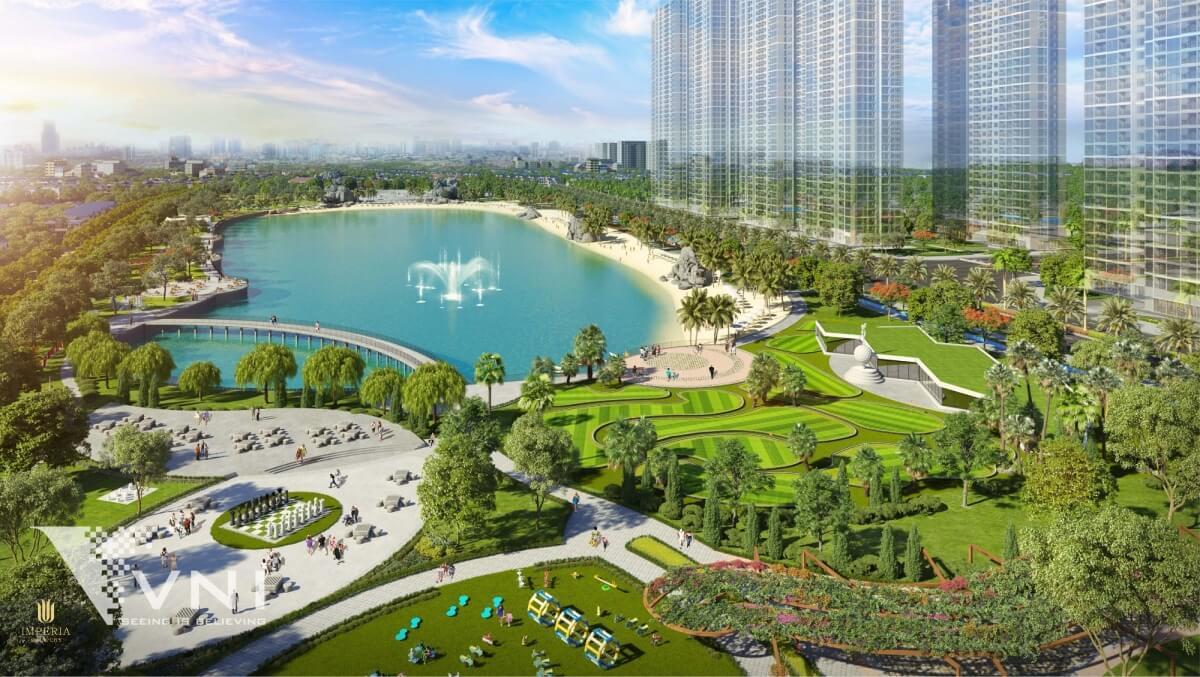 Không gian sống của Imperia Smart City