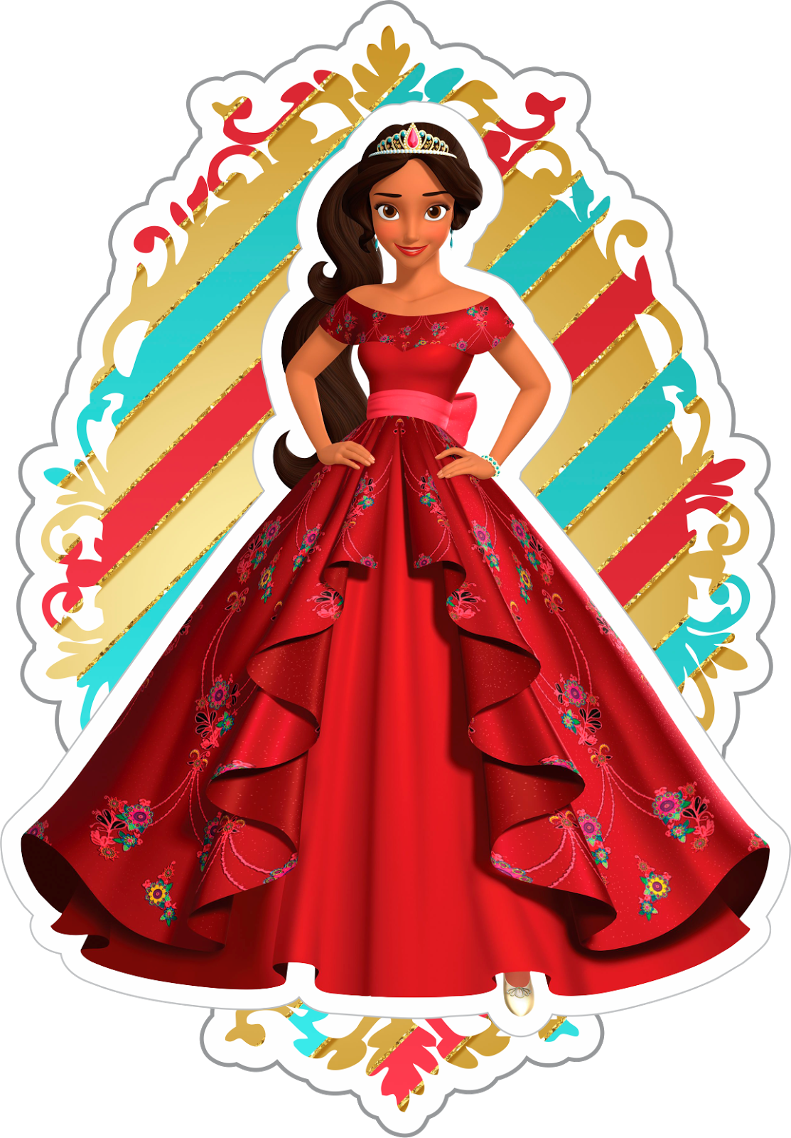 Elena From Avalor Free Printable Mini Kit Oh My Fiesta In English