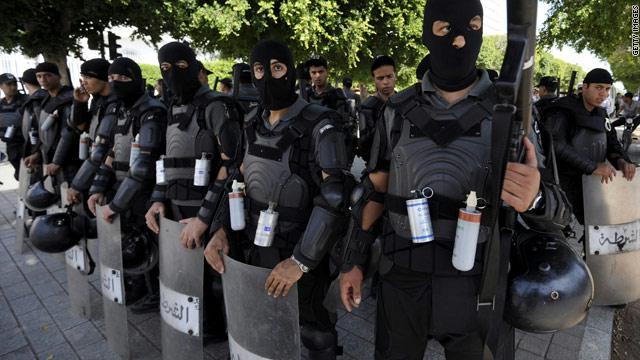 الشرطة التونسية تلاحق إرهابيين شمال غرب البلاد