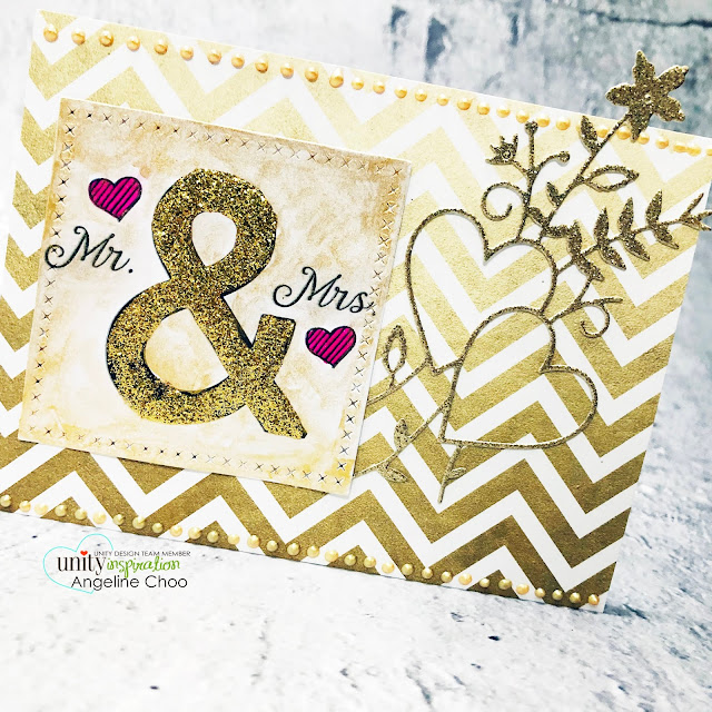 ScrappyScrappy: New Releases with Unity Stamp - And all the things #scrappyscrappy #unitystampco #quicktipvideo #youtube #card #cardmaking #stamping #papercrafting #handmadecard #andallthethings #goldweddingcard #glitterweddingcard #weddingcard #simonsaysstamp #simonsaysstampdie #lovebouquetdie #vivadecor #nuvodreamdrops #weddingcard #mr&mrs #mrandmrs #gansaitambistarrycolors #metallicwatercolor