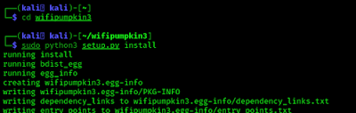 Installing WiFi Pumpkin 3 on Kali Linux 2020