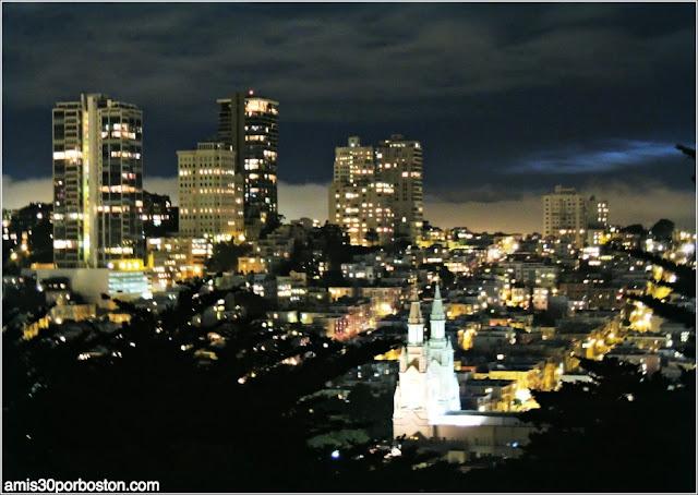 Vistas de San Francisco desde la Torre Coit