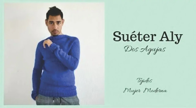 Suéter Aly a Dos Agujas