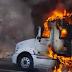 Se incendia tráiler sobre la carretera de cuota SC-Tuxtla Gutiérrez