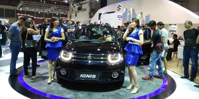 target penjualan mobil Ignis Tercapai