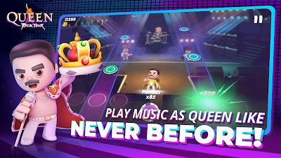 QUEEN ROCK TOUR THE OFFICIAL RHYTHM GAME (MOD, FULL UNLOCKED)