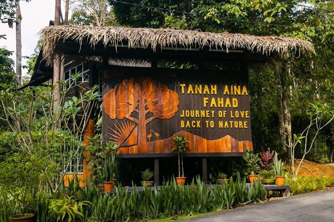 Tempat Menarik di Negeri Pahang : Tanah Aina Fahad