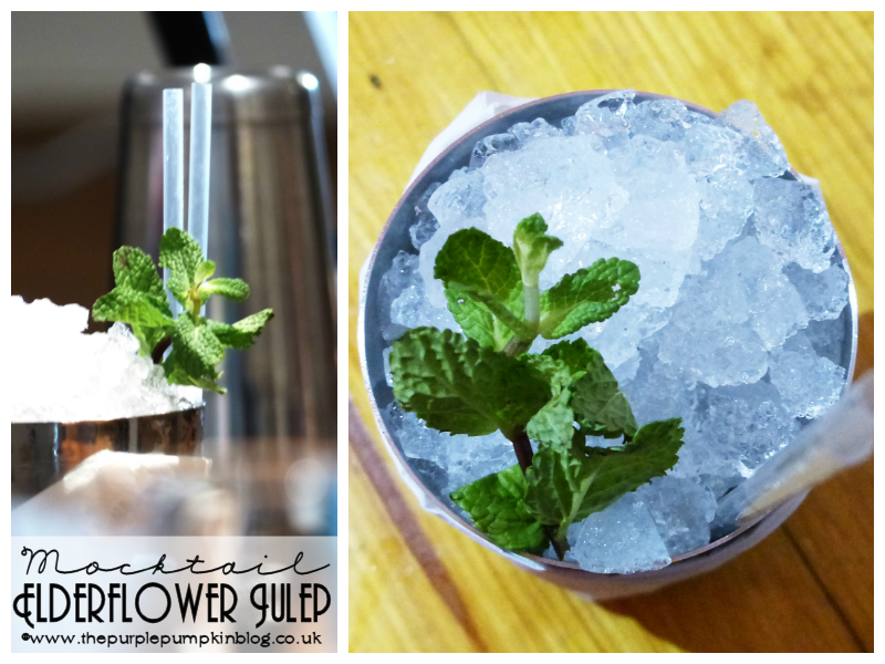Elderflower Julep - Mixology Mocktail Masterclass, Shoreditch, London