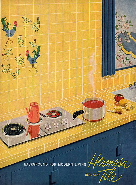 Yellow advertising 1952
