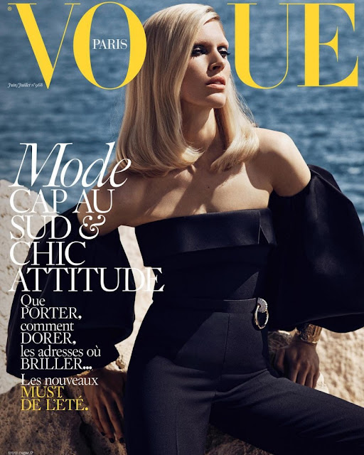 Fashion Model, @ Iselin Steiro by Mikael Jansson for Vogue Paris, June/July 2016