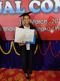 Most Memorable Day of Life - KSLU Convocation -  Getting my LLB Degree Certificate in hand :-)