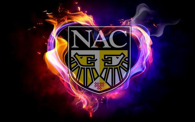 NAC achtergrond met logo