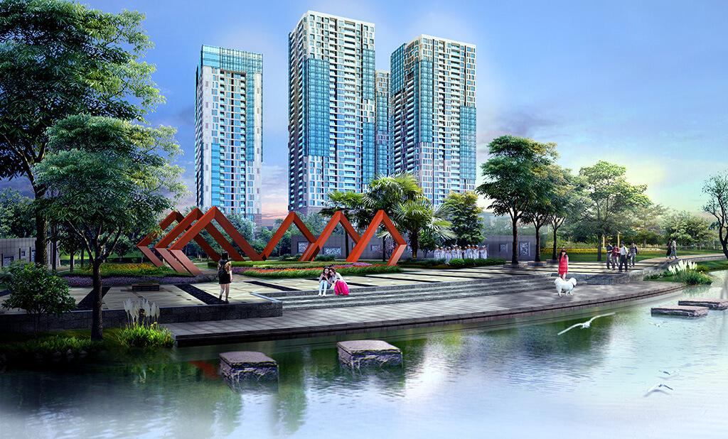 Phối cảnh dự án chung cư 168 Khuất Duy Tiến
