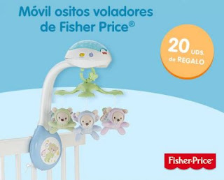 Sorteo Movil volador Fisher Price