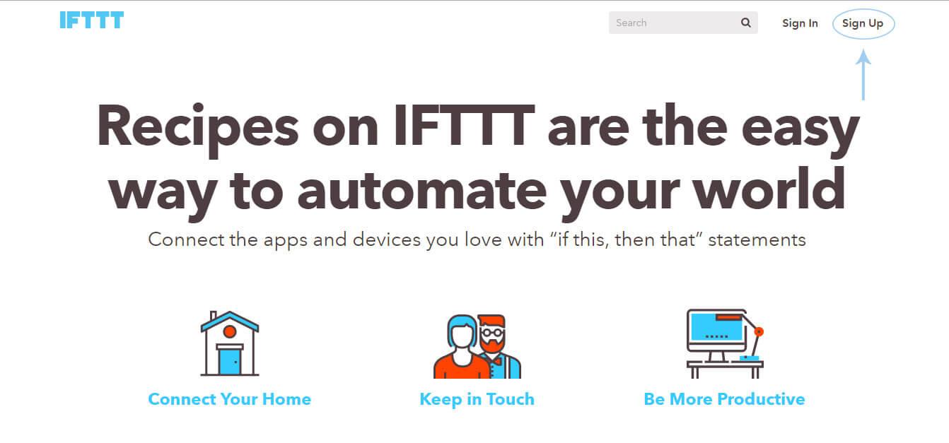 Registro-en-IFTTT