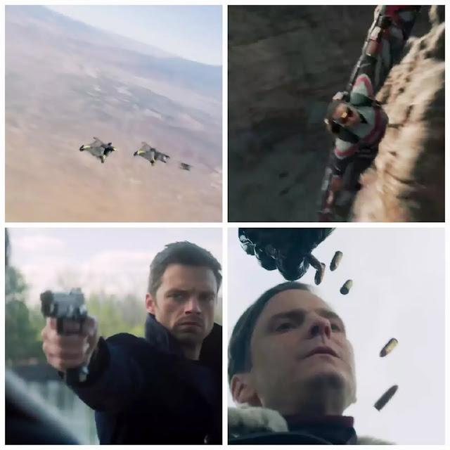 Falcon, Bucky & Zemo in Marvel Disney+ Big Game Spot trailer