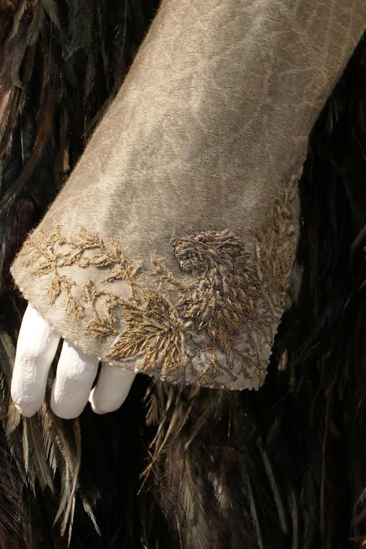 Sansa Stark Game of Thrones Queen North costume cuff detail