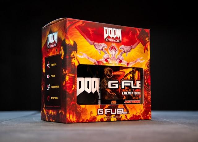 Raze Hell with the New DOOM Eternal-Inspired G FUEL Spicy Demon'ade Flavor