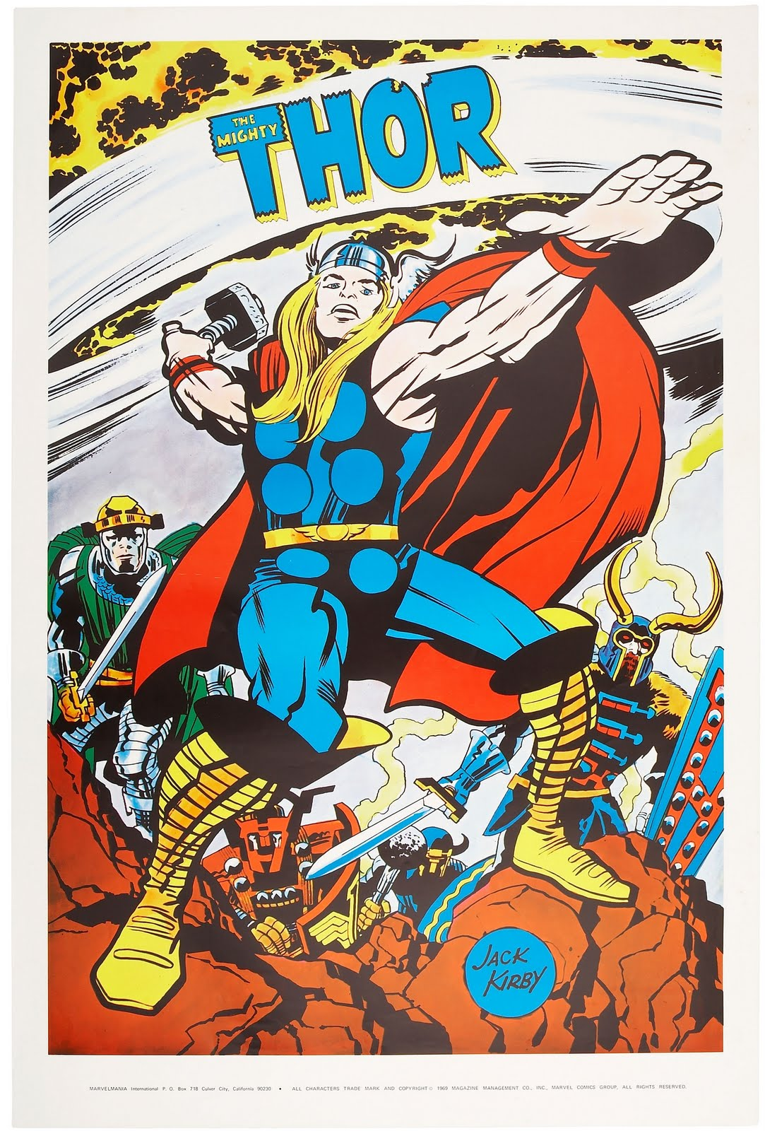 kirby jack thor marvel marvelmania comics posters poster mighty cap characters comic super dc univers bd personnages heros avengers revisited
