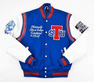 "Tennessee State University ""Motto 2.0"" varsity jacket"