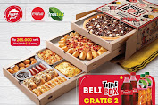 Promo Pizza Hut Beli Triple Box Gratis Coca-Cola / Frestea Berlaku 4 - 31 Mei 2020