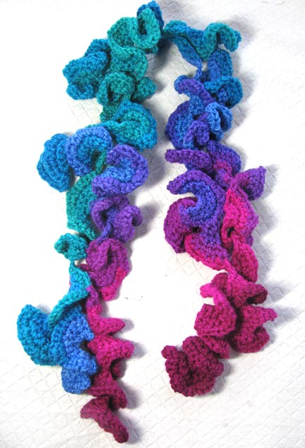 Beading Arts Free Form Crochet Samples And Tutorial Links
