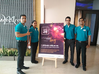 Mercure Hyderabad KCP Celebrates the Le - Club Day